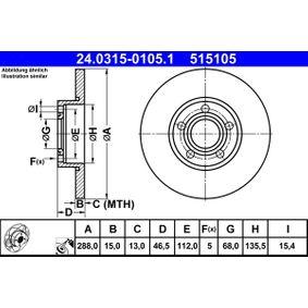 Bremsscheibe Art. Nr. 24.0315-0105.1 120,00€