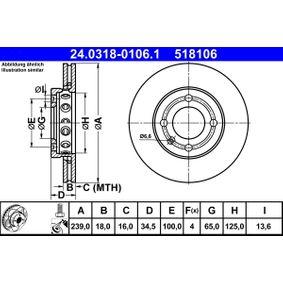 Bremsscheibe Art. Nr. 24.0318-0106.1 120,00€