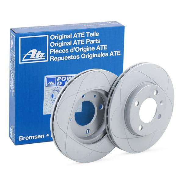 ATE PowerDisc 24.0320-0123.1 Bremsscheibe Bremsscheibendicke: 20,0mm, Lochanzahl: 4, Ø: 239,0mm