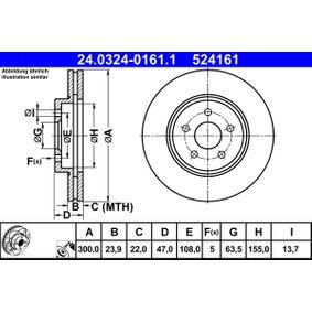 Bremsscheibe Art. Nr. 24.0324-0161.1 120,00€