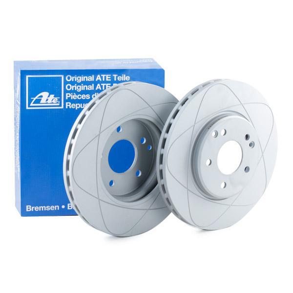 ATE PowerDisc 24.0328-0106.1 Bremsscheibe Bremsscheibendicke: 28,0mm, Lochanzahl: 5, Ø: 300,0mm