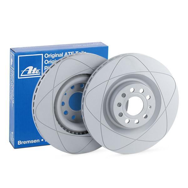 ATE PowerDisc 24.0330-0115.1 Disco de freno Espesor disco freno: 30,0mm, Núm. orificios: 5, Ø: 345,0mm