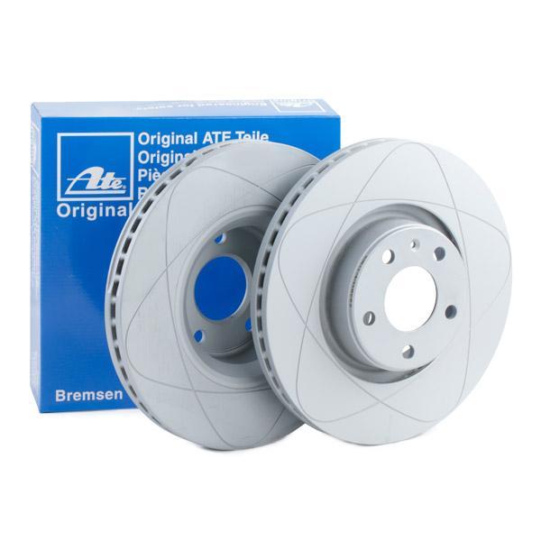 ATE PowerDisc 24.0330-0175.1 Bremsscheibe Bremsscheibendicke: 30,0mm, Lochanzahl: 5, Ø: 321,0mm