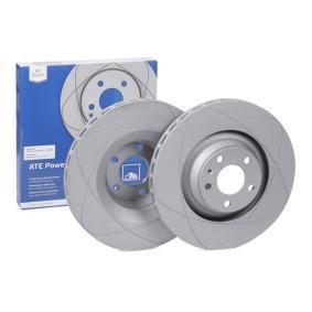 ATE PowerDisc 24.0330-0176.1 Bremsscheibe Bremsscheibendicke: 30,0mm, Lochanzahl: 5, Ø: 347,0mm