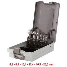 KS TOOLS Kit de bits escareadores 336.0446