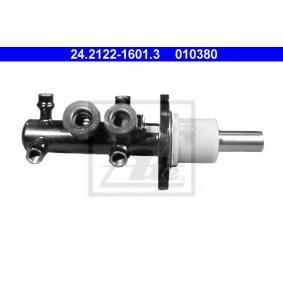 ATE Hauptbremszylinder 24.2122-1601.3 für AUDI 90 (89, 89Q, 8A, B3) 2.2 E quattro ab Baujahr 04.1987, 136 PS