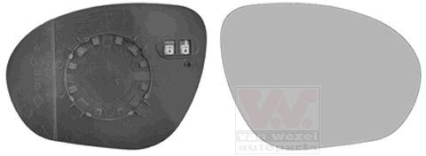 Wing Mirror Glass VAN WEZEL 3380838 rating