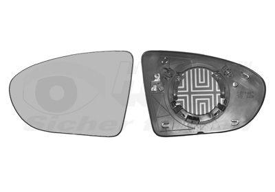 Wing Mirror Glass VAN WEZEL 3388837 rating