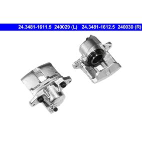 Renault Twingo 2 1.2 (CN0D) Bremssattel ATE 24.3481-1612.5 (1.2 Benzin 2014 D7F 800)