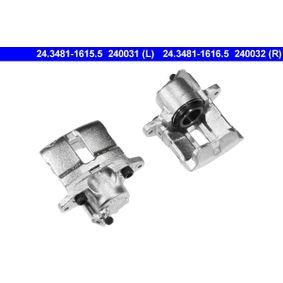 Renault Twingo 2 1.2 (CN0D) Bremssattel ATE 24.3481-1615.5 (1.2 Benzin 2012 D7F 800)