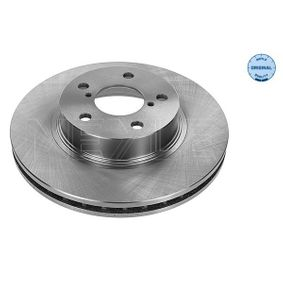 Bremsscheibe Bremsscheibendicke: 24mm, Lochanzahl: 5, Ø: 260mm mit OEM-Nummer 26300AE090