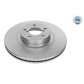 Bremsscheibe Bremsscheibendicke: 24mm, Lochanzahl: 5, Ø: 293mm mit OEM-Nummer 26300-FE040