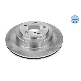 Bremsscheibe Bremsscheibendicke: 18mm, Lochanzahl: 5, Ø: 290mm mit OEM-Nummer 26700AE080