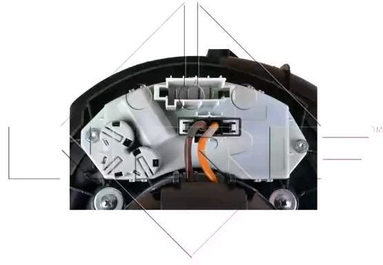 Lüftermotor NRF 34104 2503001307034