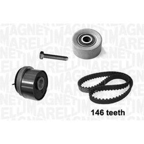 Timing Belt Set with OEM Number 1606356