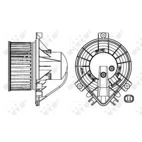 Innenraumgebläse Spannung: 12V, Nennleistung: 186W mit OEM-Nummer 67326935371