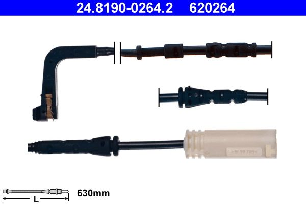 Verschleißanzeige Bremsbeläge ATE 24.8190-0264.2 Bewertung