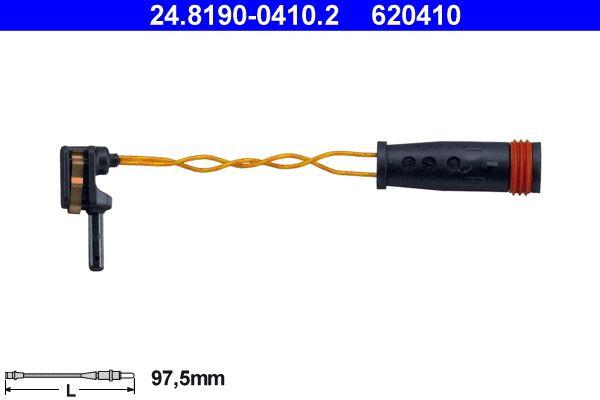 Sensor de Desgaste de Pastillas de Frenos ATE 620410 4006633127004