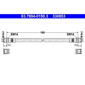 Bremsschlauch Art. Nr. 83.7804-0150.3 120,00€