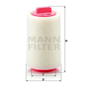 C 1287 MANN-FILTER from manufacturer up to - 27% off!