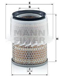 MANN-FILTER Art. Nr C 16 148 beneficioso