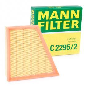 MANN-FILTER C2295/2 cunoștințe de specialitate