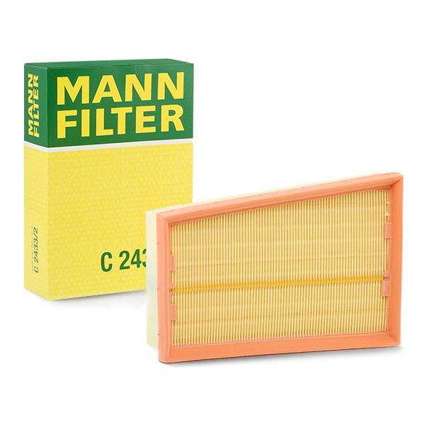 Filtro de Aire C 2433/2 MANN-FILTER C 2433/2 en calidad original