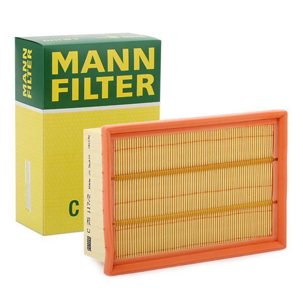 Luftfilter C 25 117/2 MANN-FILTER C 25 117/2 in Original Qualität