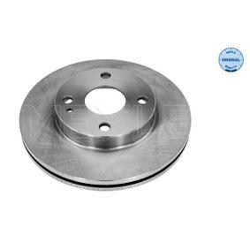 MEYLE  35-15 521 0016 Bremsscheibe Bremsscheibendicke: 22mm, Lochanzahl: 4, Ø: 235mm
