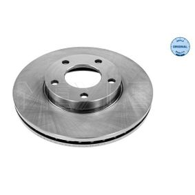 Brake Disc Brake Disc Thickness: 25mm, Num. of holes: 5, Ø: 278mm with OEM Number C24Y3325XC9A
