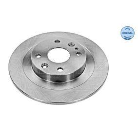 2001 Mazda MX 5 NB 1.6 16V Brake Disc 35-15 523 0005