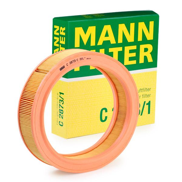 Filter MANN-FILTER C2873/1 Erfahrung
