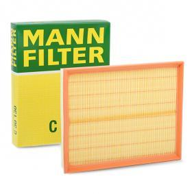 Air Filter Length: 294mm, Width: 234mm, Height: 42mm, Length: 294mm with OEM Number 5834 282