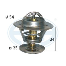 Thermostat, coolant with OEM Number 030 121 113 B