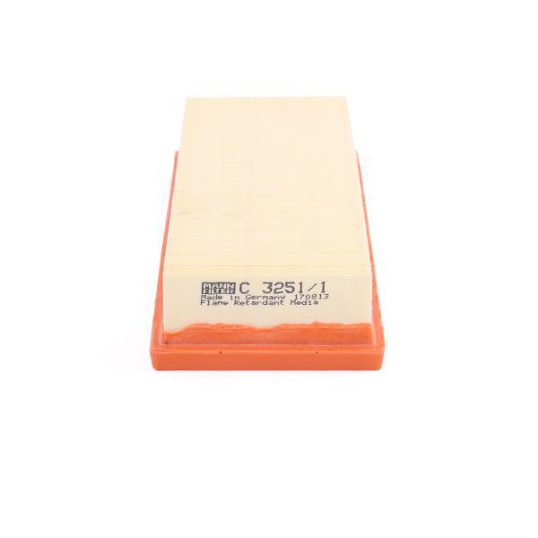 Filtro de aire MANN-FILTER C 3251/1 evaluación