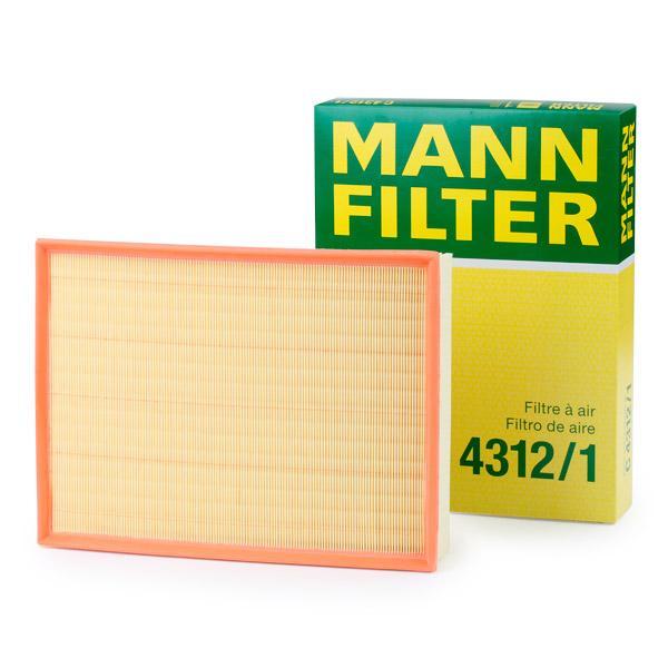 Luftfilter MANN-FILTER C4312/1 Erfahrung