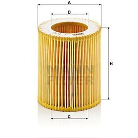 Luftfilter Höhe: 70mm mit OEM-Nummer FC44-2W875-AA
