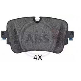 Brake Pad Set, disc brake Width 1: 129mm, Height 1: 65,3mm, Thickness 1: 16,8mm with OEM Number 4M0 698 451P
