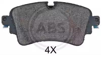 Disk Pads A.B.S. 35114 2220696205580