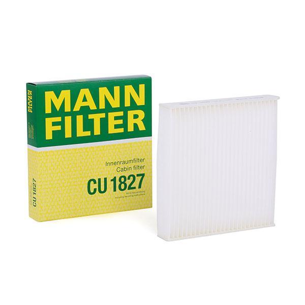 Filtro de Habitáculo CU 1827 MANN-FILTER CU 1827 en calidad original