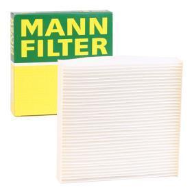 Filter, Innenraumluft Länge: 179mm, Breite: 184mm, Höhe: 30mm mit OEM-Nummer 15400-PLMA02