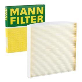 Filter, Innenraumluft Länge: 197mm, Breite: 216mm, Höhe: 25mm mit OEM-Nummer GS1D61-P11