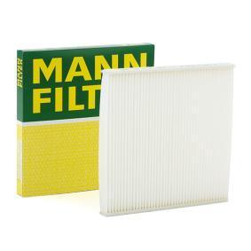 Filter, Innenraumluft Länge: 218mm, Breite: 218mm, Höhe: 17,5mm mit OEM-Nummer 88568 02020
