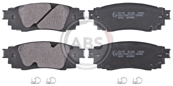 Disk brake pads A.B.S. 35135 rating