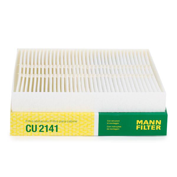 Filtro de Habitáculo CU 2141 MANN-FILTER CU 2141 en calidad original