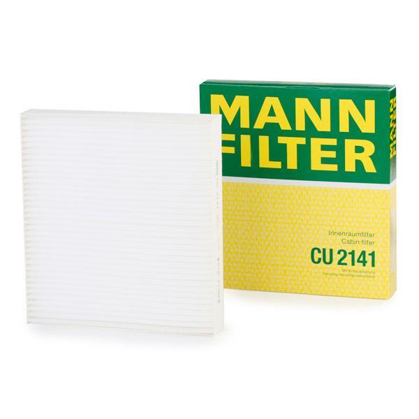 Filtro de Polen MANN-FILTER CU 2141 evaluación