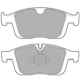 Bremsbelagsatz, Scheibenbremse Breite 1: 181,3mm, Breite 2: 179,6mm, Höhe 2: 72mm, Dicke/Stärke 2: 18,5mm mit OEM-Nummer 3144598-6