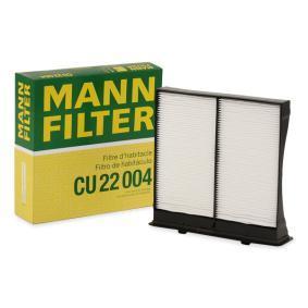 Filter, Innenraumluft Art. Nr. CU 22 004 120,00€