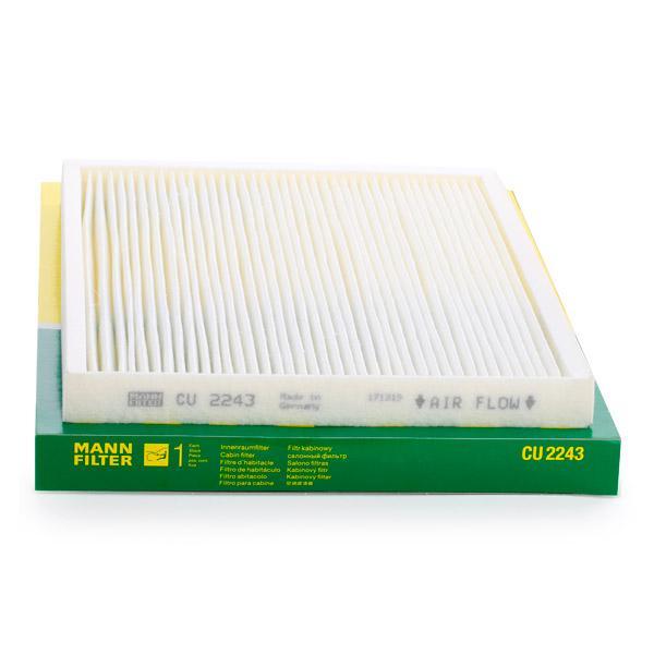 Pollenfilter MANN-FILTER CU 2243 Bewertung