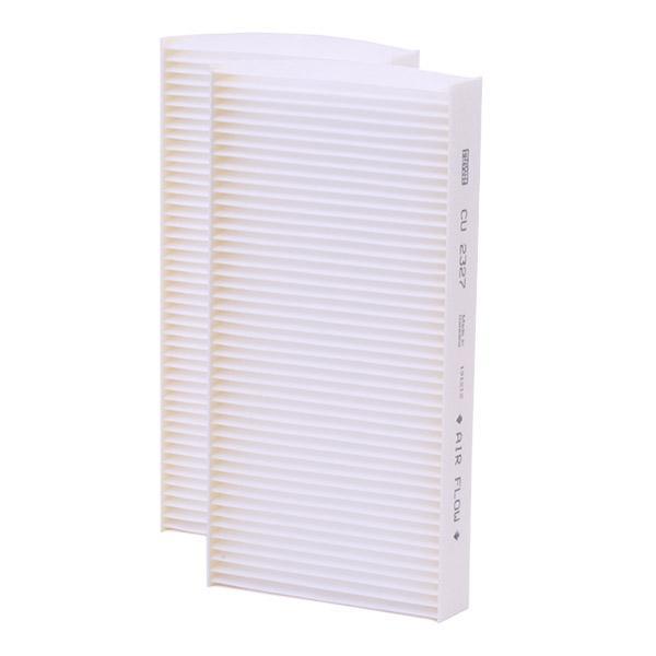 Filtro, aire habitáculo MANN-FILTER CU 2327-2 4011558559700